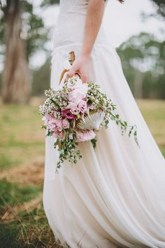 Boho Bridesmaids shoot by Logan Cole...like this different angle of the bouquet