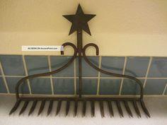 Primitive Rake,  Vintage,  Garden,  Decoration,  Farm Tool Art Decor Other photo