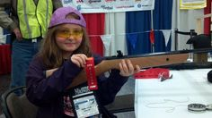 Tanya (age 9) mastered open sights and shot the IZH 46M, then the Gamo Recon. But her favorite was the Air Venturi Bronco!