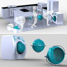 10 high-tech washing machines of the future - revolutionizing washing