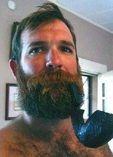 Man Smoking, Pipe Smoking, Hairy Men, Men Beard, Hot Guys, Hot Men, Awesome Beards, Bear Men, Papi