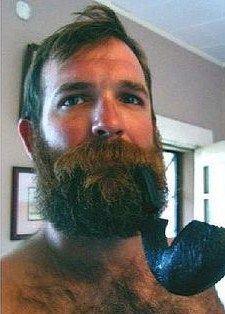 Man Smoking, Pipe Smoking, Hairy Men, Men Beard, Awesome Beards, Bear Men, Beard No Mustache, Hairy Chest, Papi