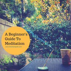 Disclaimer: This is not your average post on how to begin meditating. This guide requires you to do the initial work leading up to ...
