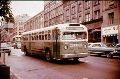 World's Fair bus, My family rode one from the King Street Station to the Monorail at Westlake to enter the Fair. Had my first train ride that day as well - from Edmonds to King Street. Seattle Washington, Washington State, Bus City, Short Bus, State Of Oregon, Travel Route, West Lake, Emerald City, World's Fair