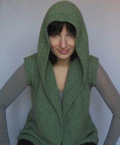 Love this vest! Huntress pattern by Natalia Kolasa