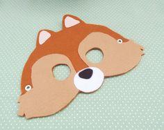Máscara Esquilo - Coleção Great Bear