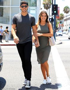 So in love: JoJo Fletcher and Jordan Rodgers were spotted shopping in Beverly Hills on Wednesday