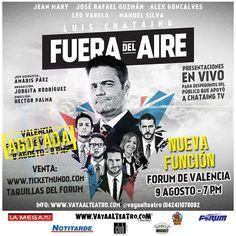 La gira Fuera del aire abre nueva función en el Fórum de Valencia | Recomendao.com