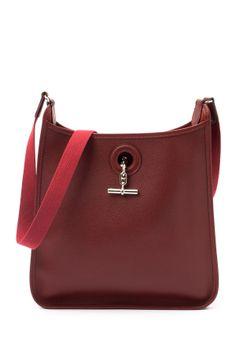 Vespa PM Stamp Square H Sliver Hardware Handbag