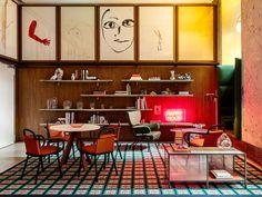 El concepto del hotel es el de reflejar la original atmósfera de la ciudad.