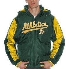 Oakland Athletics Rover Fleece Jacket - Green