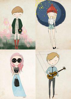 Blanka illustrations