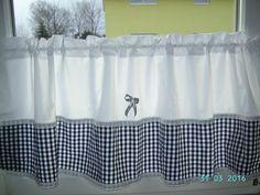 Gardinen -  Scheibengardinen-Gardine Küche - ein Designerstück von schmetterling06 bei DaWanda