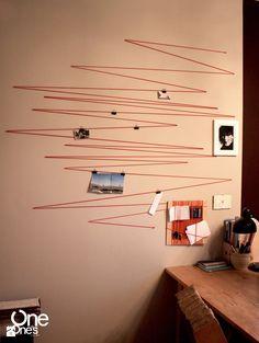 String Out! wall - zdjęcie od OneOnes Creative Studio - Pokój dziecka - Styl Minimalistyczny - OneOnes Creative Studio