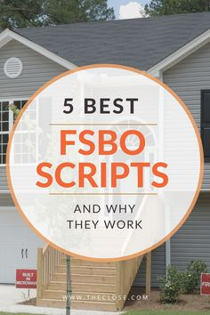 Investing For Beginners Discover 5 Best FSBO Scripts of 2019 FSBO homes are perfect leads. See 5 best FSBO scripts real estate agents use to get more listings. Real Estate Training, Real Estate Coaching, Real Estate Buyers, Real Estate Career, Real Estate Leads, Real Estate Business, Real Estate Investor, Real Estate Tips, Real Estate Sales