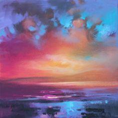 CMY SkyStudy 1 oil painting by scottish landscape artist Scott Naismith