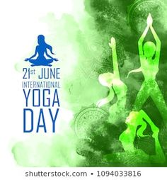 Illustration Of Woman Doing Asana For International Yoga Day On June poster 21 June Yoga Day, Eid Greetings, American Guy, International Yoga Day, Floor Workouts, Do Exercise, Yoga Tips, How To Do Yoga
