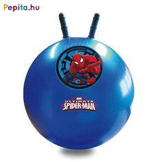 Kiváló minőségű, 45 cm átmérőjű ugrálólabda Pókember mintával díszítve. A kengurulabda vidám szórakozás lányoknak és fiúknak egyaránt, miközben remek sportolási forma, amely nem csak erősít, de fejleszti az egyensúly érzéket és a koordinációs készséget. Ajánlott 3 éves kortól. Lany, Spiderman, Spider Man, Amazing Spiderman