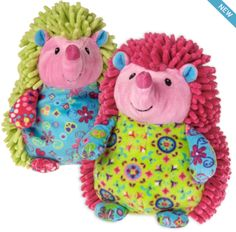 Pizzazz Prickles Hedgehog from Mary Meyer  Available now at Bobangles.  #MaryMeyer #plush #toy #kids #cute #Australia #hedgehog