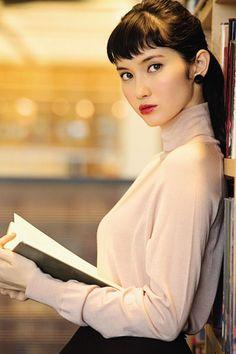 画像 World Most Beautiful Woman, Beautiful Asian Women, Beautiful Models, Japanese Beauty, Asian Beauty, Asian Bangs, Portraits, Japan Girl, Japanese Models
