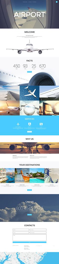 Airport Joomla Template: More detail and see LIVE DEMO of Airport Joomla Template, insert id number 57652 in Search Templates box at webwisepro.com