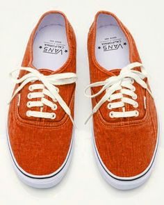 burnt orange vans
