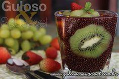 A dica de sobremesa é este Sagu de Chia com Frutas, é delicioso funcional, muito saudável, super nutritivo, fácil e econômico. Quer mais?  #Receita aqui: http://www.gulosoesaudavel.com.br/2015/12/04/sagu-chia-frutas/