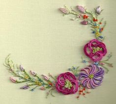 Brazilian Embroidery | manufactured brazilian embroidery patterns usually include flowers ...