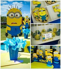 Minion theme: decorations