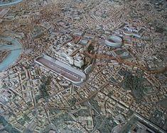 """Képtalálat a következőre: """"ancient rome city 3d aerial"""""""