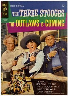 The Thre Stooges in The Outlaws is Coming (1965)