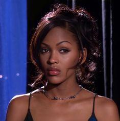 Pretty Black Girls, Beautiful Black Girl, Beautiful Women, Black Girl Aesthetic, Aesthetic Hair, Aesthetic Makeup, Black Girl Makeup, Girls Makeup, 90s Makeup