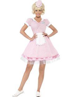 Women's 1950s Diner Girl Costume