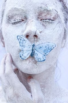 Capture Your Heart Photography - Jordyn Otey - Self Portrait - Butterfly - Flour