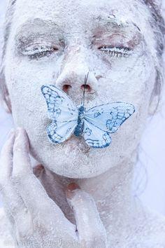 Capture Your Heart Photography - Jordyn Otey - Self Portrait - Butterfly - Flour