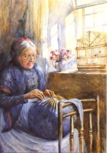Old lacemaker