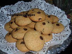 ΜΑΝΙΤΑΡΙΑ: Νηστίσιμα κουλουράκια με πορτοκάλι και σοκολάτα! Muffin, Cookies, Breakfast, Desserts, Food, Crack Crackers, Morning Coffee, Tailgate Desserts, Deserts
