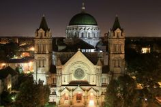 Cathedral Basilica, Lindell Blvd., St. Louis, MO