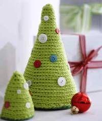Padrões Amigurumi gratuitas: Árvore de Natal Crochet