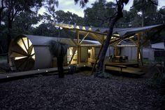 *자연 속의 원통형 세컨드 하우스 Unusual Holiday Home for Creative Campers :: 5osA: [오사]