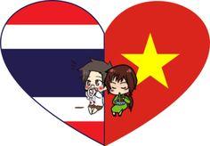 ThaiViet Shimeji Heart by LadyAxis.deviantart.com on @DeviantArt