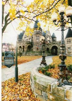Buhl Mansion Guesthouse & Spa in Sharon, Pennsylvania.   We had our wedding here = AMAZING!!!