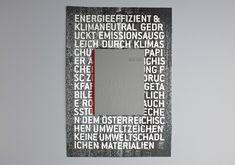 Getting Our Hands Dirty - Wir machen uns die Hände schmutzig. Annual Report for Gutenberg Printers as self promotion. By Mooi Design.