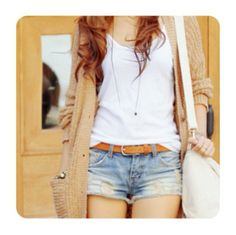 cute fall outfit, for when it& still warm with a slight breeze., Beach Outfits, cute fall outfit, for when it& still warm with a slight breeze. Look Fashion, Teen Fashion, Fashion Outfits, Womens Fashion, Hipster Fashion, Fashion 101, Fashion Vintage, Spring Fashion, Fashion Ideas