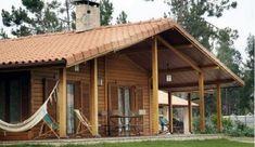 casa de madeira t2