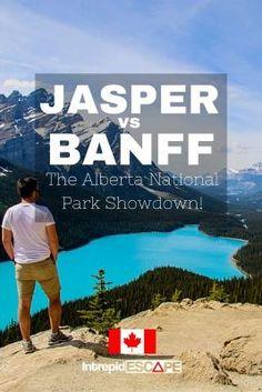 Jasper vs Banff National Park, Alberta Canada