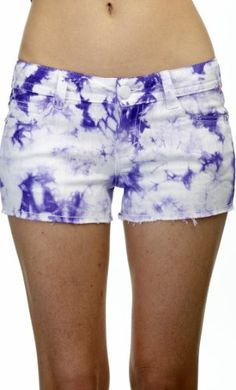 WallFlower Juniors Tie Dye Shorts (bestseller)