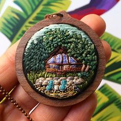 This cottage scenery is all done and it's on the way to its home! Those…