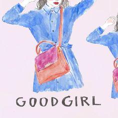 Illustrator NAPPY/ GIRL'S ILLUSTRATION/ 女の子のイラスト