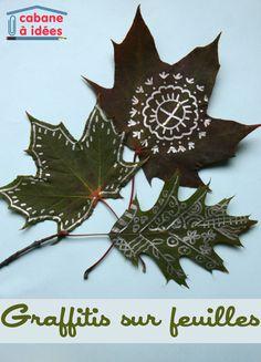 Diy And Crafts, Arts And Crafts, Leaf Art, Art Plastique, Diy For Kids, Cool Designs, Christmas Ornaments, Holiday Decor, Diy Bracelet